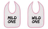 Mild One Wild One Baby Bibs