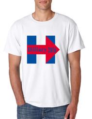 Men's T Shirt Hillary 2016 Red Blue USA Election Clinton Shirt