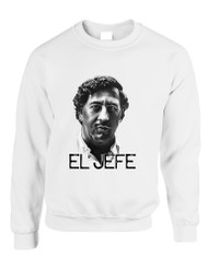 Adult Crewneck Pablo Escobar Face El Jefe Popular Top