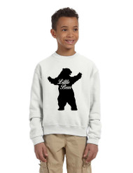 Kids Youth Crewneck Little Bear Family Shirt Xmas Cute Gift