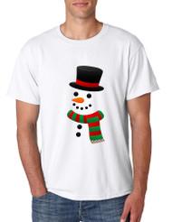 Men's T Shirt Snowman Ugly Christmas Xmas Gift Cool Holiday Top