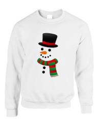 Adult Crewneck Snowman Ugly Christmas Xmas Cool Holiday Top