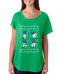 Women's Dolman Shirt 4 1-800 Hotline Bling Ugly Christmas