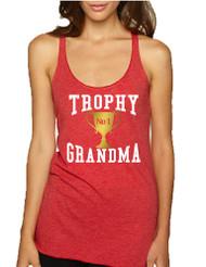 Women's Tank Top Trophy Grandma Cool Xmas Family Gift Top