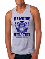 Men's Tank Top Hawkins Middle School 1983