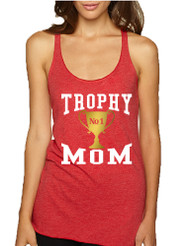 Women's Tank Top Trophy Mom Cool Gift Love Mother's Day Top