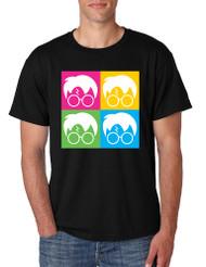 Men's T Shirt 4 Faces Harry Glasses Scar Cool Popular Tee Shirt