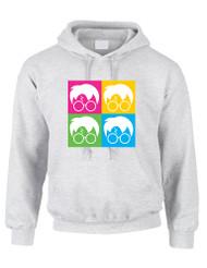 Adult Hoodie Sweatshirt 4 Faces Harry Glasses Scar Cool Top