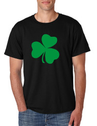 Men's T Shirt Green Shamrock Graphic St Patrick's Day Tee