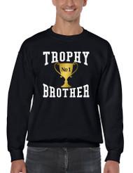 Men's Sweatshirt Trophy Brother Love Family Gift Graphic Top