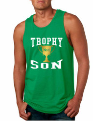 Men's Tank Top Trophy Son Cool Gift Love Graphic Top