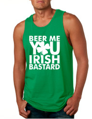 Men's Tank Top Beer Me You Irish St Patrick's Day Drunk Top