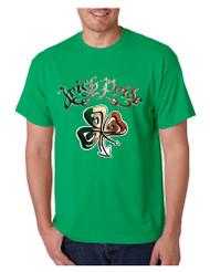 Men's T Shirt Irish Pride Shamrock St Patrick's Day Shirt