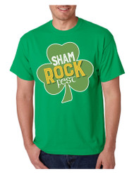 Men's T Shirt Shamrock Fest St Patrick's Day Party Tee Shirt