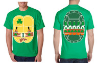 Men's T Irish Ninja St Patrick's Day Cool Party Tee Shirt
