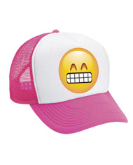 Emoji Satisfied Valucap Foam Trucker Cap