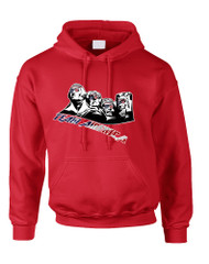 Adult Hoodie 4 Fathers American Team 4th Of July Love USA
