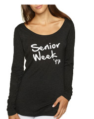 Women's Shirt Senior Week 17 White Class Of 2017 Party