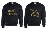 Couple Sweatshirt His Precious The Lord Love Engagement Tops