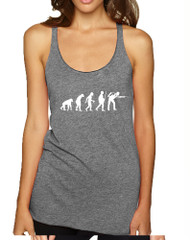 Women's Tank Top Pool Snooker Evolution Cool Billiards Top