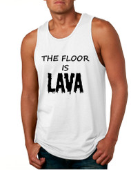 Men's Tank Top The Floor Is Lava Childhood Game Hot Popular Top