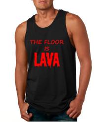 Men's Tank Top The Floor Is Lava Game Red Hot Popular Funny Top