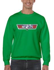 Men's Sweatshirt Top Dad Guns Father's Day Shirt Love Dad Gift