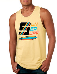 Men's Tank Top Sun Sea Surf Lover Summer Beachwear Outfit