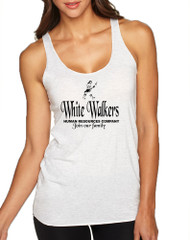 Women's Tank Top White Walkers Human Resources Company