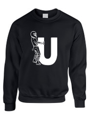 Adult Sweatshirt F U Motorcyclist Riding Cool Motorcycle Top