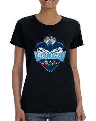 Women's T Shirt North Wall Winter Olympics Popular Tee
