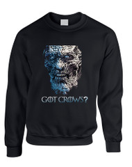 Adult Sweatshirt Got Crows? Cool Trendy Top Hot Gift
