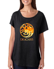 Women's Dolman Shirt Dracarys Popular Trendy Shirt