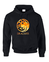 Adult Hoodie Dracarys Popular Trendy Top