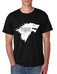 Men's T Shirt Winter Is Coming Cool T Shirt Popular Gift