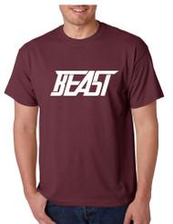 Men's T Shirt Beast Cool Sidemen Trendy Hot Tee Shirt