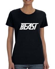 Women's T Shirt Beast Cool Sidemen Trendy Tshirt