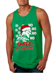 Men's Tank Top Christmas Joker Smile Its Christmas Ugly Trendy