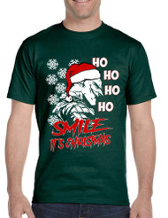 Men's T Shirt Christmas Joker Smile Its Christmas Ugly Holiday Tee