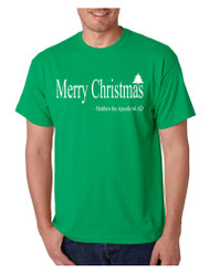 Men's T Shirt Matthew The Apostle Merry Christmas Tee Holiday