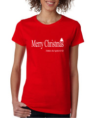 Women's T Shirt Matthew The Apostle Merry Christmas Shirt