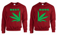 Best Buds couples gifts Sweatshirt