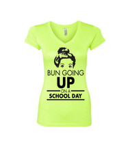 BUN GOING UP ON A SCHOOL DAY Sporty Tee Shirt