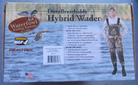 CADDIS DURABREATHABLE HYBRID BOOTFOOT 5mm MAX-4 WADER sz 11