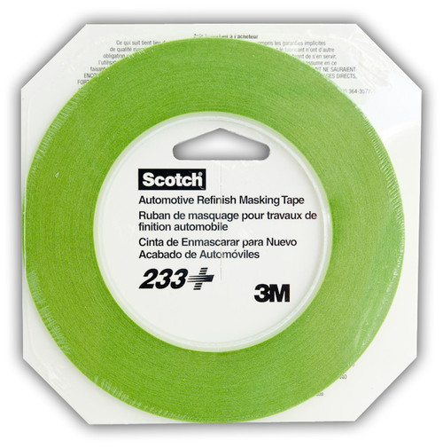 3M: 233 High Temp Resin Tape 3mm (1/8)