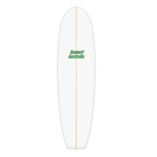 7'7 Mini Mal/Fun Board Blank Dion Chemicals