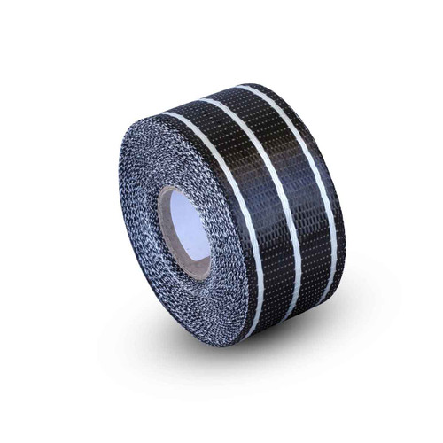 Uni Carbon Fibre Tape: 65mm Clear