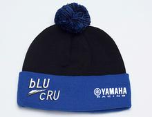 Black & Blue bLU cRU Pom Beanie