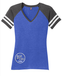 Ladies Sporty V Neck Tee