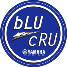 bLU cRU Trailer Sticker